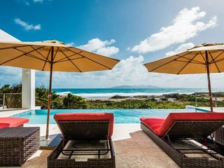 Villa Tequila Sunrise | Beach Front - Located in Exquisite Dropsey Bay with Pr