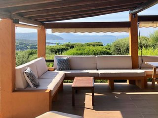 Villa with beach access Capo Coda Cavallo