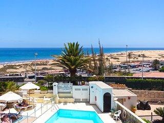 """""""See Sea Suite""""· Precioso apartamento con vistas a las Dunas de Maspalomas en 1º"""