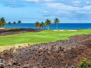 Luxury Ocean view Villa w/Central AC and free Wifi! Hali'i Kai at Waikoloa Beach