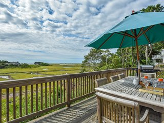 #623: Stunning ocean views from expansive deck! Best location in Chatham!