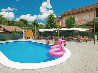 Stunning home in Rakovica w/ WiFi, 1 Bedrooms and Outdoor swimming pool