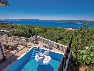 Awesome home in Crikvenica w/ WiFi and 6 Bedrooms (CKA161)