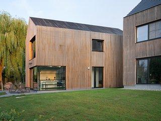VELPE55 architecturale vakantiewoning met uitzicht in het Hageland bij Leuven