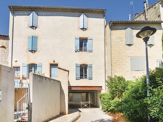 Nice home in Uzès w/ WiFi and 1 Bedrooms