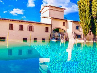 SPOLETO LUXURY MILL HOUSE, SLPS 31, POOL, RESTAURANT, BAR, SPOLETO CENTRE 10 MNS