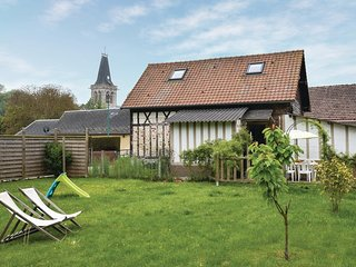Nice home in Le Bourg-Dun w/ WiFi and 3 Bedrooms (FNS045)