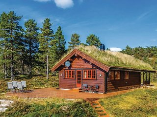 Awesome home in Dølemo w/ Sauna, WiFi and 3 Bedrooms