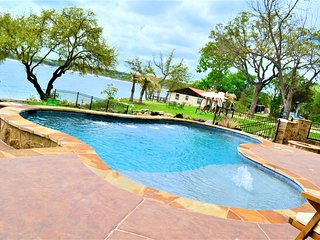 "LAKE TRAVIS WATERVIEW ""RESORT-STYLE HOME WITH POOL & SAUNA"""