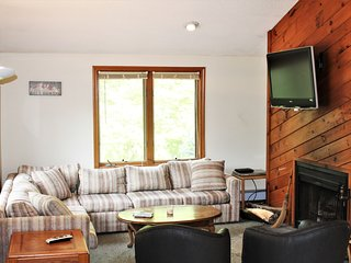 Unit 2 Ahmeek . 3 Br. Mt. Snow Chalet with Fireplace,Hot Tub,Wifi