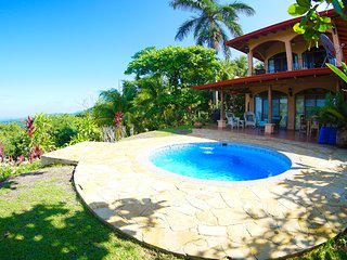 Magnificent Getaway with Ocean-Mountain Views and Private Pool