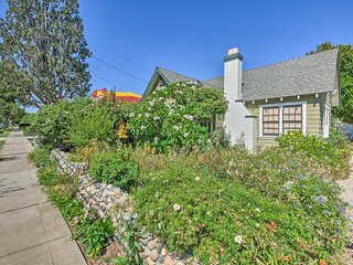 Downtown Orange Cottage w/ Garden & Hot Tub!