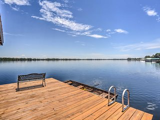 NEW! Waterfront Lake Placid Home w/ Private Dock!