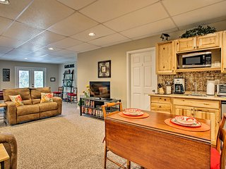 Tuckasegee Apartment w/ Fire Pit & Mtn. Views