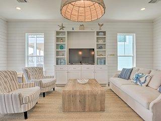 NEW! Private Beachside Galveston Home w/ Porch!