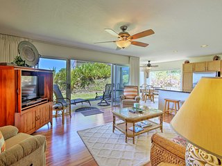 Oceanfront Princeville Condo w/ Pool and AC Unit!