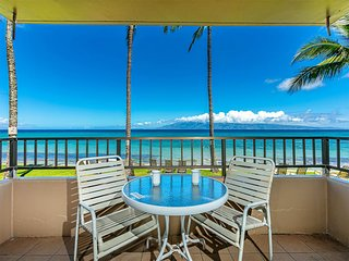 West Maui Beauty w/Lanai, Full Kitchen, WiFi, Ceiling Fans+Flat Screen–Paki