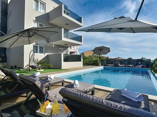 Amazing apartment in Razanj w/ WiFi, Outdoor swimming pool and Heated swimming p