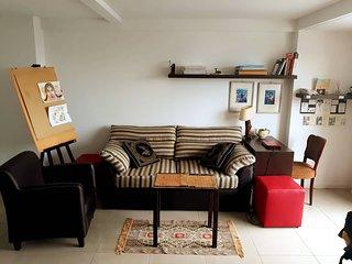 Conforto e Tranquilidade, academia e lavanderia