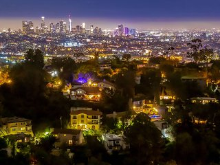Hollywood Hills Panoramic Views