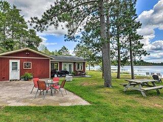 Lakefront Solon Springs Cabin w/Private Dock!