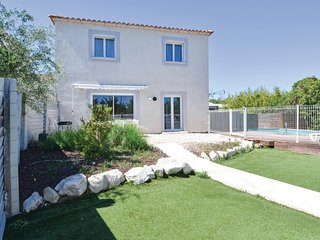 Nice home in Saint Privat des Vieux w/ WiFi and 4 Bedrooms