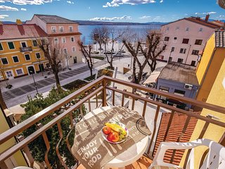 Beautiful apartment in Selce w/ WiFi and 1 Bedrooms (CKA240)