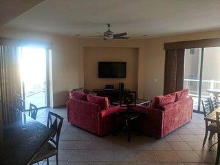 BIG Ocean View 3 Bedroom Condo With Wrap-Around Patio at Las Palomas