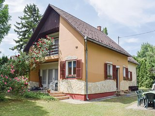 Awesome home in Siófok w/ WiFi and 4 Bedrooms