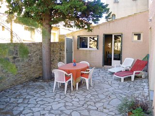 Nice home in St Quentin la Poterie w/ 1 Bedrooms
