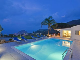 Mazzaforno Villa Sleeps 8 with Pool Air Con and WiFi - 5679471