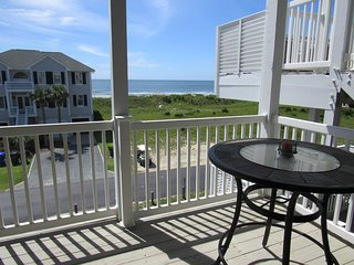 'BEACH HAVEN'  NEW LISTING!  ocean view-pool club-directly across  beach access