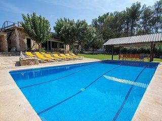 Casa rural El Bosque, Las Palmeras gran jardin y piscina, privacidad