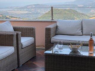 Villa vue mer Corse du Sud/ Golfe de Valinco 8 à 10 personnes indépendante