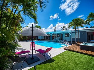 Aline, villa avec piscine et jacuzzi