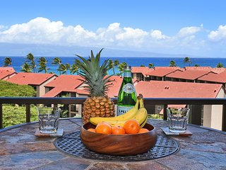Beautiful Ocean Views in Quiet Condo w/ AC-Kaanapali Shores 836