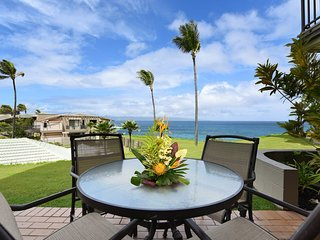 Kapalua Bay Villa 23G-2 Breath Taking Ocean front Bay Villa