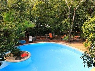 Magic Jungle Villa in Tulum w/ Pool, 5 BR : PERFECT SPOT to chill !