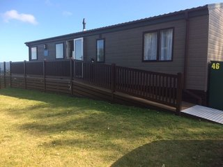 Lodge  46 Luxury Two bedroom lodge with sea view  at Riviera Bay Brixham