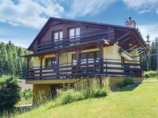 Stunning home in Trutnov w/ Sauna, 3 Bedrooms and Outdoor swimming pool (TBG517)