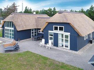 Stunning home in Blavand w/ Sauna, WiFi and 4 Bedrooms (P32371)