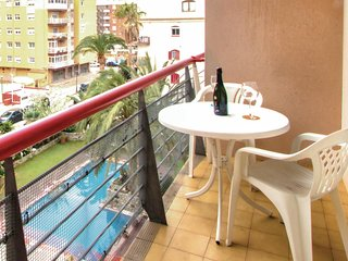 Amazing apartment in Calella w/ Outdoor swimming pool, WiFi and 1 Bedrooms