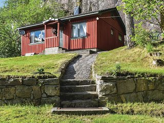 Awesome home in Kvinesdal w/ 2 Bedrooms