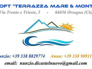 Loft 'Terrazza Mare & Monti'