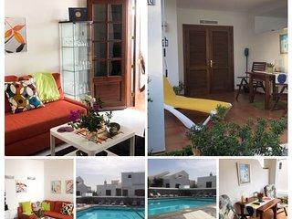 El Descansito, heerlijk appartement aan zee, zwembad, WiFi en Apple tv