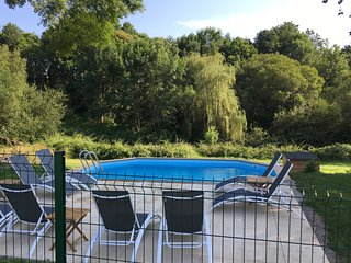 Chez Broche private Lake & Pool