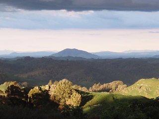 Mt Kakepuku looking towards the Coromandel.