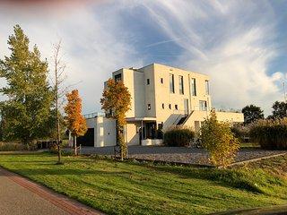 Superdeluxe villa in het Friese meren gebied