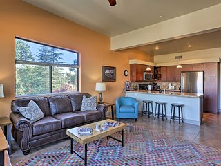 Remodeled West Sedona Loft w/Private Balcony!