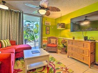 Oceanfront Kailua-Kona Islander Studio w/Private Lanai